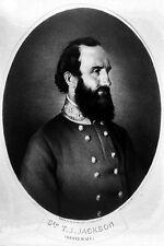 "New 5x7 Civil War Photo: Confederate General Thomas ""Stonewall"" Jackson"