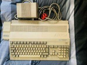 COMMODORE AMIGA A500 + COMPUTER - RARE VINTAGE SYSTEM