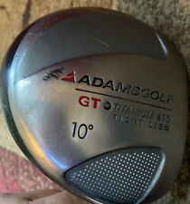 Adams Golf Tight Lies GT Titanium 410 Driver 10 Degree Right Hand Preowned