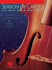 Seasons Of Carols For Solo Viola And Piano Music Book-Brand New On Sale Songbook