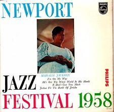 "Newport Jazz Festival 1958 Mahalia Jackson EP 45 Dutch pressing  7"""