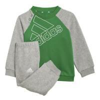 adidas I BL FL Jogginganzug Baby - grau/grün