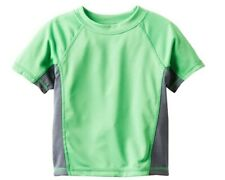 *NEW* Kanu Surf Boys' Short Sleeve UPF 50+ Rashguard Swim Shirt, LG (12) BQ2590
