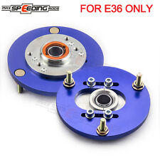 Front Coilover Top Mount Camber Plate For BMW E36 318 328 323 325 M3  90-00 MSR