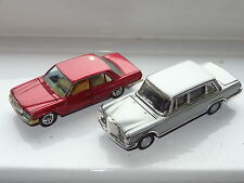 gama mini  MERCEDES 350SE & 600