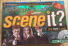 Harry Potter Scene It 2nd Edition Dvd Board Game 100% Complete Freepost Vgc