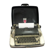 Smith-Corona Electra 120 Typewriter with Case and Ribbon Works and tested