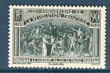 TIMBRE N° 444 NEUF ** SANS CHARNIERE GOMME D'ORIGINE - 150 ANS DE LA REVOLUTION