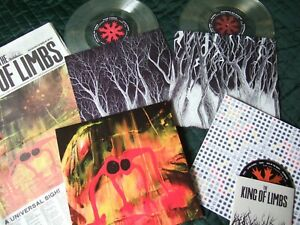 """Radiohead The King Of Limbs Sealed Uk Newspaper Cd 2 Clear Vinyl 10"""" 45Rpm Lps"""