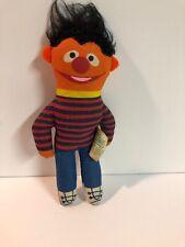 Vintage KnickerBocker Sesame Street 6 Inch Ernie Plush