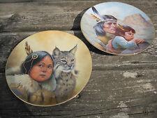Greg Perillo Plates Winter Scout & Kiowa Nation Vague Shadows Le Indian Heritage