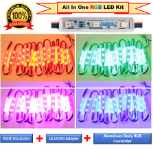 LUXLED Commercial Grade Multi Color LED Strip Lights Kit Plug n Play Light(50ft)