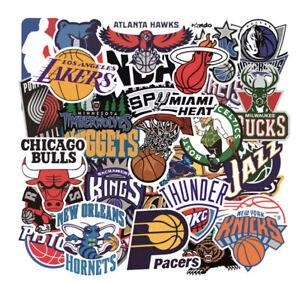 32 x NBA Stickers Basketball Team Stickers