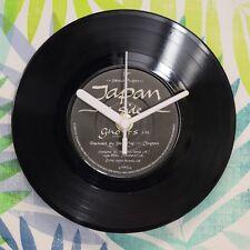 "Japan 'Ghosts' Retro Chic 7"" Vinyl Record Wall Clock"
