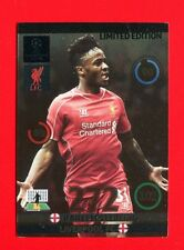 CHAMPIONS LEAGUE 2014-15 Panini - Card Limited edition - STERLING - LIVERPOOL