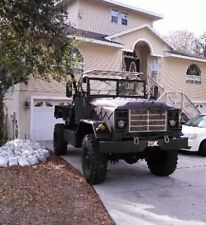 1986 AM GENERAL M923A1 4X4  MILITARY TRUCK BOBBED OUT