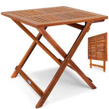 Gartentisch Beistelltisch Klapptisch Balkontisch klappbar Garten Holz Massiv