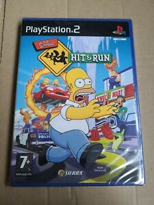 The Simpsons Hit And Run PS2 FULL Original UK Version new sealed
