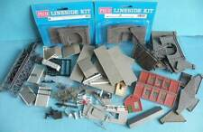 Lot Plastic N Gauge Lineside Accessories Tunnel Bridge Mouths & Walls Wagon Kit