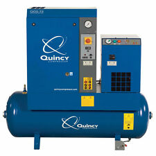 Quincy QGS 5-HP 60-Gallon Rotary Screw Compressor w/ Dryer