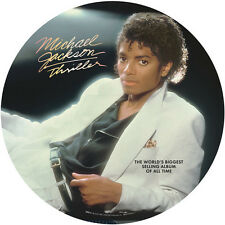 Thriller - Michael Jackson  Picture Disc (Vinyl Used Very Good) Picture Disc