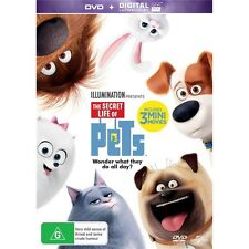 THE SECRET LIFE OF PETS-Voice of Steve Coogan-Region 4-New AND Sealed