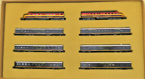 Con-Cor KANSAS CITY SOUTHERN (SOUTHERN BELLE) LIMITED EDITION SET N SCALE