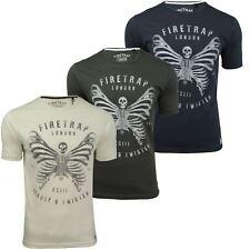 Mens T-Shirt by Firetrap 'Maleb' Short Sleeved