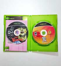 Xbox Lot The Warriors & Grand Theft Auto Vice City GTA Lot Of 2