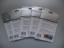 "Set of 5 Photo Paper Matt (4"" x 6"") - Total 100 Sheets - Free P&P"