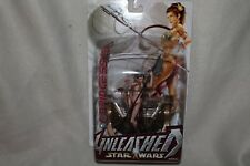 Hasbro Star Wars Unleashed: Slave Leia 2004 Edition Action Figure