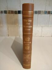 New listing Easton Press The Day The Martians Came by Frederick Pohl 1988 Signed 1st Edition