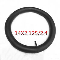 14x2.125 Inner Tube Electric Bike Bicycle Rubber Tire With Angled Bent 90° Valve