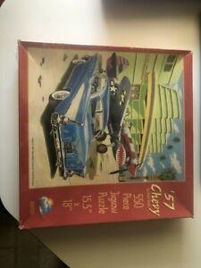 "'57 Chevy SunsOut 550 Piece Jigsaw Puzzle, 15.5"" x 18"""