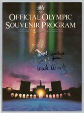 1984 Vintage GRETE WAITZ Original SIGNED AUTOGRAPH Olympics MARATHON RUNNER