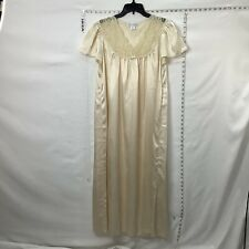 Oscar De la Renta Nightgown Sleepwear Women's Size Medium Pajamas Lingerie Maxi