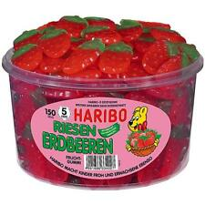 1 Dose Haribo Riesen Erdbeeren 1350g Fruchtgummi-Erdbeeren 150er