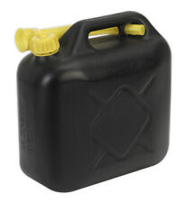 FUEL CAN 10LTR - BLACK FROM SEALEY