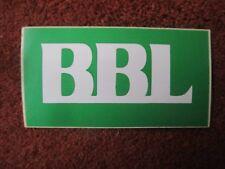 AUTOCOLLANT STICKER AUFKLEBER BANQUE BANK BBL BRUXELLES LAMBERT ING BELGIQUE