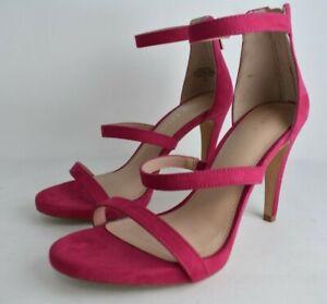 KELLY & KATIE Size 7.5, Pink Courtnee Heels