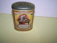 VINTAGE LUCE DECIELO CHEESE FORMAGGIO PARMESAN ROMANO TIN CANISTER