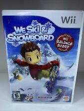 We Ski & And Snowboard (Nintendo Wii, 2008)