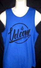 MENS VOLCOM ROYAL BLUE TANK TOP  T-SHIRT SIZE M