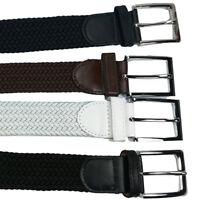 Cinta Cintura Uomo Donna Elastica Intrecciata 125 Cm Idea Regalo Casual 678