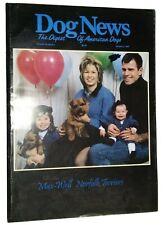Dog News Illustrated Magazine Norfolk Terrier Cover +Articles Jan. 1997