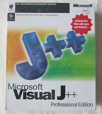 *New & Sealed* Microsoft Visual J++ Professional Edition, ActiveX, Java