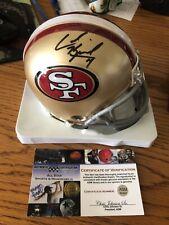 Colin Kaepernick Autographed 49ers Riddell Mini Helmet  - ASM AUTHENTICATED