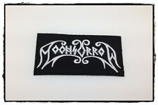 Moonsorrow Sew Iron On Patch Embroidered Rock Band Pagan Metal Heavy Music Logo