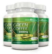 Grains de Café Vert pur 6000mg 20% CGA 270 régime capsules Evolution SLIMMING