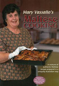 Mary Vassallo's Maltese Cooking (book 2)